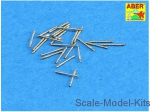 ABR350-L24 Set of 20 pcs 13mm type 93 AA barrels for Japan Navy ships