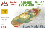 AMG35404 NKL-27 armed speed boat  WWII (late)