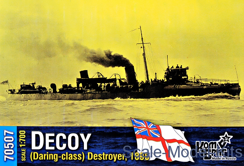 "HMS ""Decoy"" (Daring-class) Destroyer, 1895"