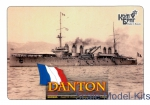 CG3509WL French Danton Battleship, 1911