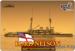 CG3521WL HMS Lord Nelson Battleship, 1908 (Water Line version)