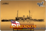 CG3522WL HMS Agamemnon Battleship, 1908 (Water Line version)