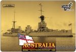 CG3533WL 1/350 Combrig 3533WL - HMAS Australia Battlecruiser (Water Line version)