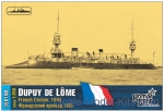 CG3581WL French Dupuy de Lome Cruiser, 1895 (Water Line version)