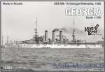 CG70460 USS BB-15 Georgia Battleship, 1906
