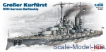 ICMS002 Grosser Kurfurst WWI German battleship