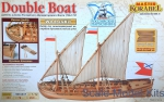 MAK0201 Wooden kit, Dubbel boat Imperial Navy 1736-1737