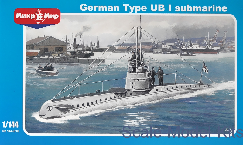 German type UB-1 submarine