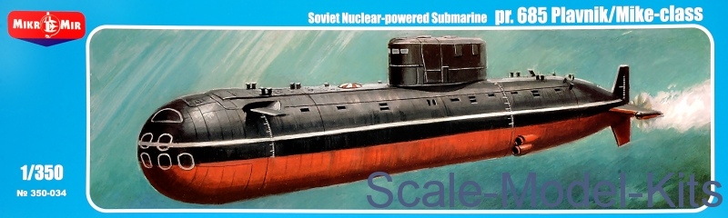 Pr.685 Plavnik/Mike-class, Soviet nuclear-powered submarine