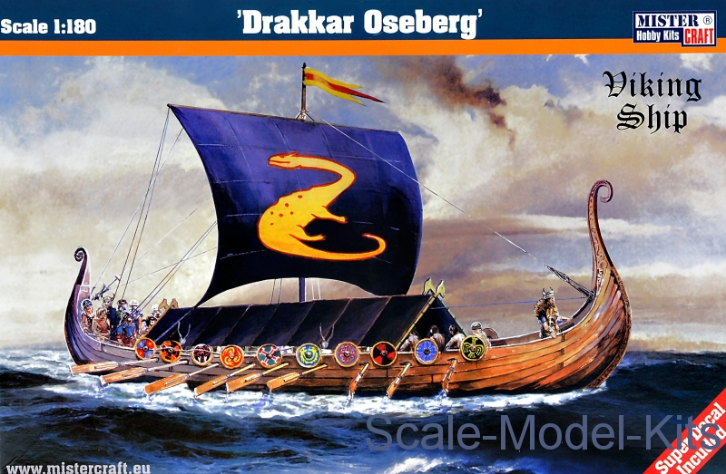 "Viking ship ""Drakkar oseberg"""