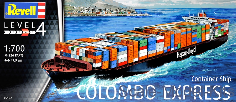Container Ship 'Colombo Express'