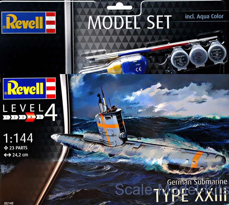 Gift set - German Submarine Type XXIII