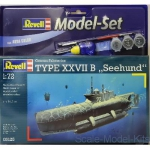 RV65125 Model Set U-Boot Type XXVIIB 'Seehund'