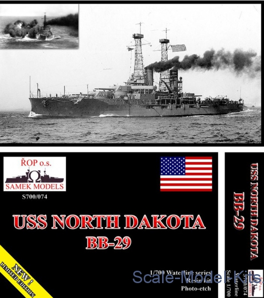 "USS ""North Dakota BB-29"""