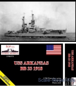 ROP-S700-078 USS Arkansas BB-33, 1918