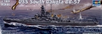 Warships: 1/700 Trumpeter 05760 U.S.S. South Dakota BB-57, Trumpeter, Scale 1:700