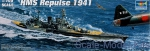 Warships: English cruiser Repulse 1941, Trumpeter, Scale 1:700